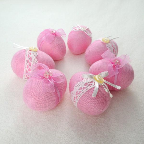 zdobené velikonoční vajíčka