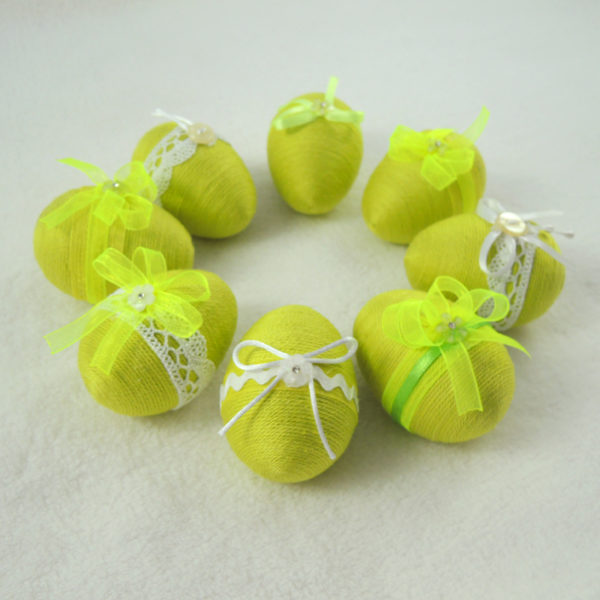 jarní zelená dekorace světlezelená velikonoce