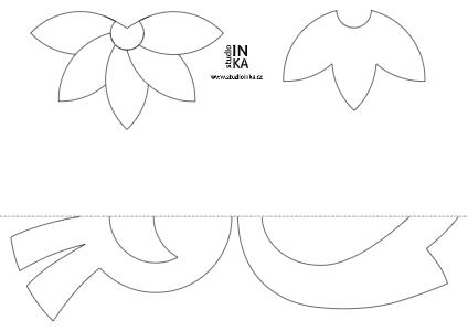 tisknutelný soubor pdf s dekorací na okna