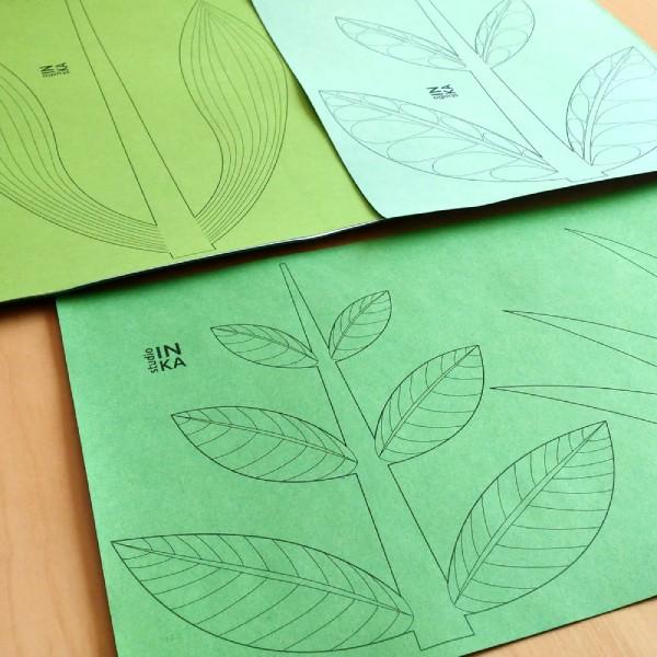 pdf soubor k vytištění stonku tulipánu