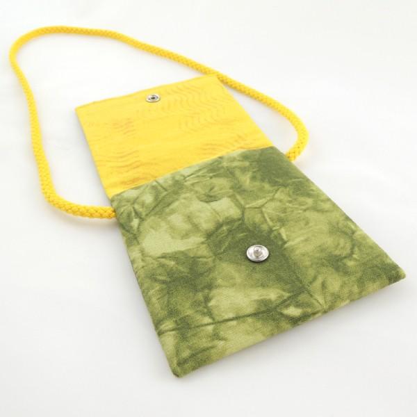 Dětské textilní kapsičky na šňůrce, obrázek víl, zapínání na stiskací druk.