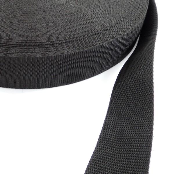 černý popruh 40 mm