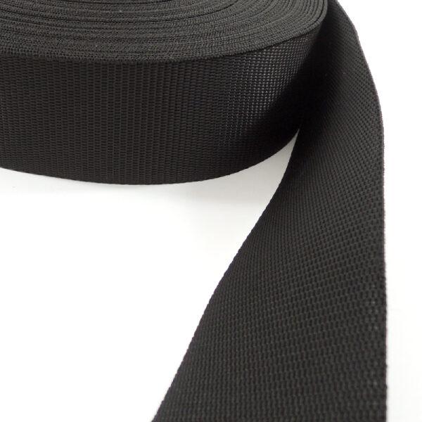 černý popruh 50 mm
