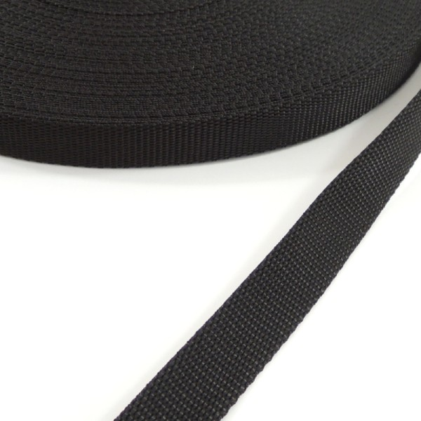 černý popruh 16 mm