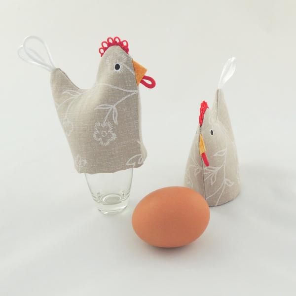 veselé dekorace, doplňky snídaňového servisu, používá se jako čepička na uvařené vajíčka