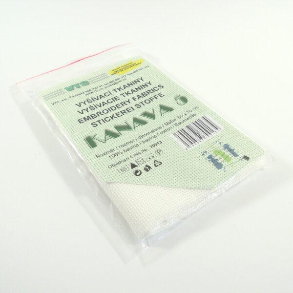 textilní materiál pro křížkové vyšívání
